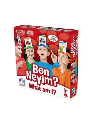 KS Puzzle KS Games What Am I   / Ben Neyim ? Kutu Oyunu Renkli